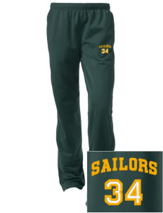 Columbus High School Sailors Embroidered Women's Tricot Track Pants