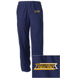 Columbus High School Sailors Embroidered Holloway Men's Flash Warmup Pants