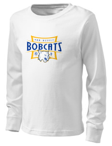 Van Asselt Bobcats  Kid's Long Sleeve T-Shirt