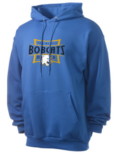 Van Asselt Bobcats Men's 7.8 oz Lightweight Hooded Sweatshirt