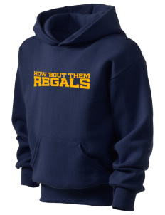 Regina High School Regals Kid's Hooded Sweatshirt