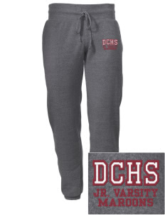 Dowling Catholic High School Maroons Embroidered Alternative Men's 6.4 oz Costanza Gym Pant