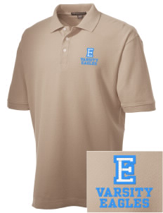 Eckstein Middle School Eagles Embroidered Men's Performance Plus Pique Polo