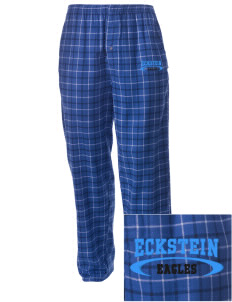 Eckstein Middle School Eagles Embroidered Men's Button-Fly Collegiate Flannel Pant