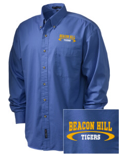 Beacon Hill Elementary School Tigers Embroidered Tall Men's Twill Shirt