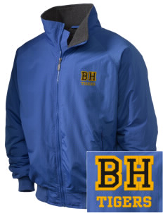 Beacon Hill Elementary School Tigers Embroidered Holloway Men's Tall Jacket