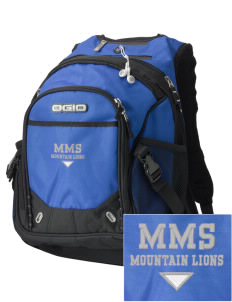 Meany Middle School Jaguars Embroidered OGIO Fugitive Backpack