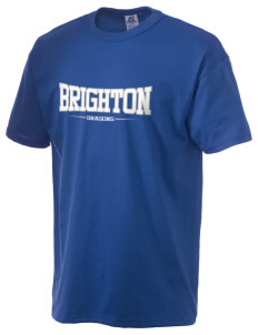 Brighton Elementary School Dragons  Russell Men's NuBlend T-Shirt
