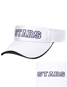 Roxhill Elementary School Stars Embroidered Binding Visor
