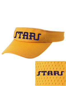 Roxhill Elementary School Stars Embroidered Woven Cotton Visor