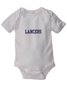 Our Lady Of Lord Saint James School Lancers Baby Zig-Zag Creeper