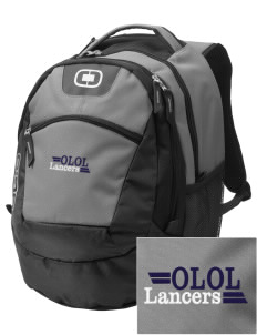 Our Lady Of Lord Saint James School Lancers Embroidered OGIO Rogue Backpack