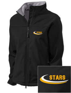 Kearney Catholic High School Stars Embroidered Women's Glacier Soft Shell Jacket