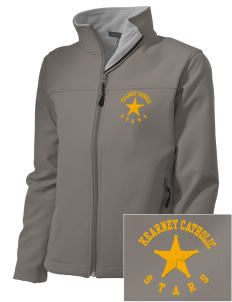 Kearney Catholic High School Stars Embroidered Women's Soft Shell Jacket