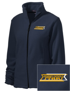 Kearney Catholic High School Stars Embroidered Women's Wintercept Fleece Full-Zip Jacket
