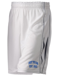 "Christ The King School Panthers Holloway Women's Piketon Short, 8"" Inseam"