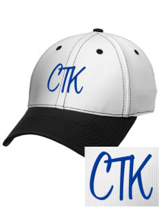 Christ The King School Panthers Embroidered New Era Snapback Performance Mesh Contrast Bill Cap