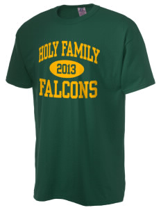 Holy Family School Falcons  Russell Men's NuBlend T-Shirt