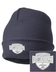 Saint Joseph School Jaguars Embroidered Knit Cap