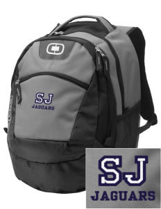 Saint Joseph School Jaguars Embroidered OGIO Rogue Backpack