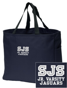 Saint Joseph School Jaguars Embroidered Essential Tote