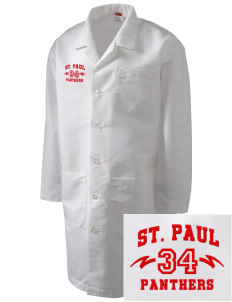 Saint Paul School Panthers Full-Length Lab Coat