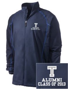 Trinity Catholic School Trojans Embroidered Men's Nike Golf Full Zip Wind Jacket