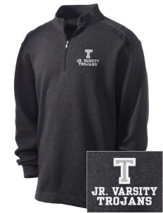 Trinity Catholic School Trojans Embroidered Nike Men's Golf Heather Cover Up