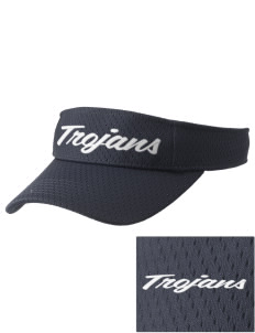 Trinity Catholic School Trojans Embroidered Woven Cotton Visor