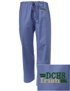 DeSales Catholic High School Irish Embroidered Scrub Pants