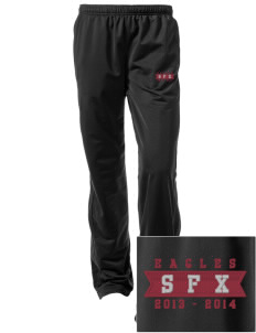 Saint Francis Xavier School Eagles Embroidered Women's Tricot Track Pants