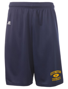 "Covington Junior High School Covington Colts  Russell Deluxe Mesh Shorts, 10"" Inseam"