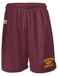 "Covington Junior High School Covington Colts  Russell Men's Mesh Shorts, 7"" Inseam"