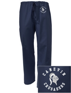 Canevin Catholic High School Crusaders Embroidered Scrub Pants