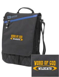 Word Of God School Wildcats Embroidered OGIO Module Sleeve for Tablets