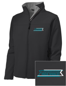Lakeridge Elementary School Orca Whales Embroidered Women's Soft Shell Jacket
