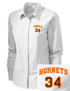 West End Catholic School Hornets Embroidered Women's Classic Oxford