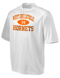 West End Catholic School Hornets Holloway Men's Fastbreak Performance T-Shirt