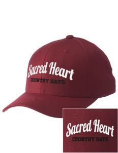 Sacred Heart Country Day School Country Days Embroidered Pro Model Fitted Cap