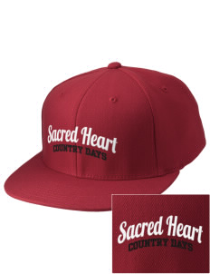 Sacred Heart Country Day School Country Days Embroidered Diamond Series Fitted Cap