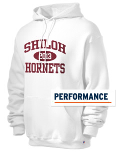 Shiloh Elementary School Hornets Russell Men's Dri-Power Hooded Sweatshirt