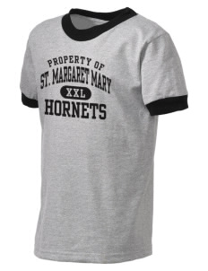 Saint Margaret Mary School Hornets Kid's Ringer T-Shirt