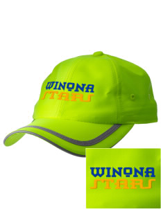 Winona Academy Stars  Embroidered Safety Cap