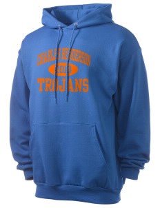 Charles Henderson Middle School Trojans Men's 7.8 oz Lightweight Hooded Sweatshirt