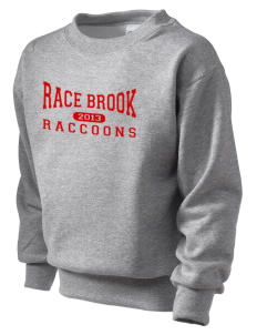 Race Brook Elementary School Raccoons Kid's Crewneck Sweatshirt