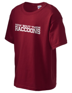 Race Brook Elementary School Raccoons Kid's 6.1 oz Ultra Cotton T-Shirt