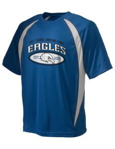 West Florida Christian School Eagles Champion Men's Double Dry Elevation T-Shirt