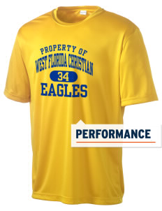 West Florida Christian School Eagles Men's Competitor Performance T-Shirt