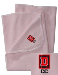 Community Christian Academy Defenders Embroidered Fleece Receiving Blanket