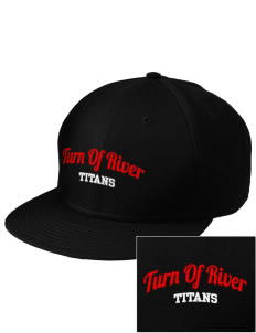 Turn Of River Middle School Titans  Embroidered New Era Flat Bill Snapback Cap
